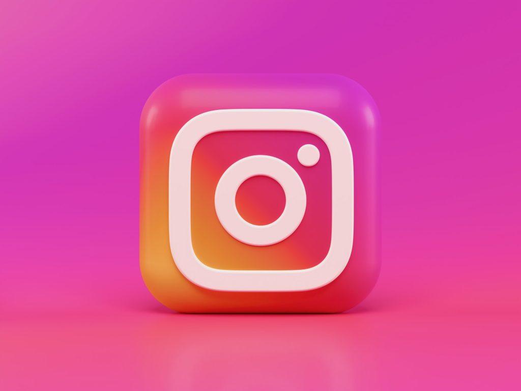 Instagram 3D icon